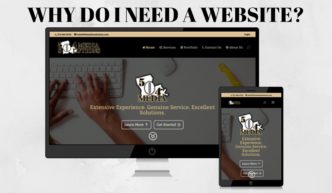 504 Media Mondays – Why Do I Need a Website?