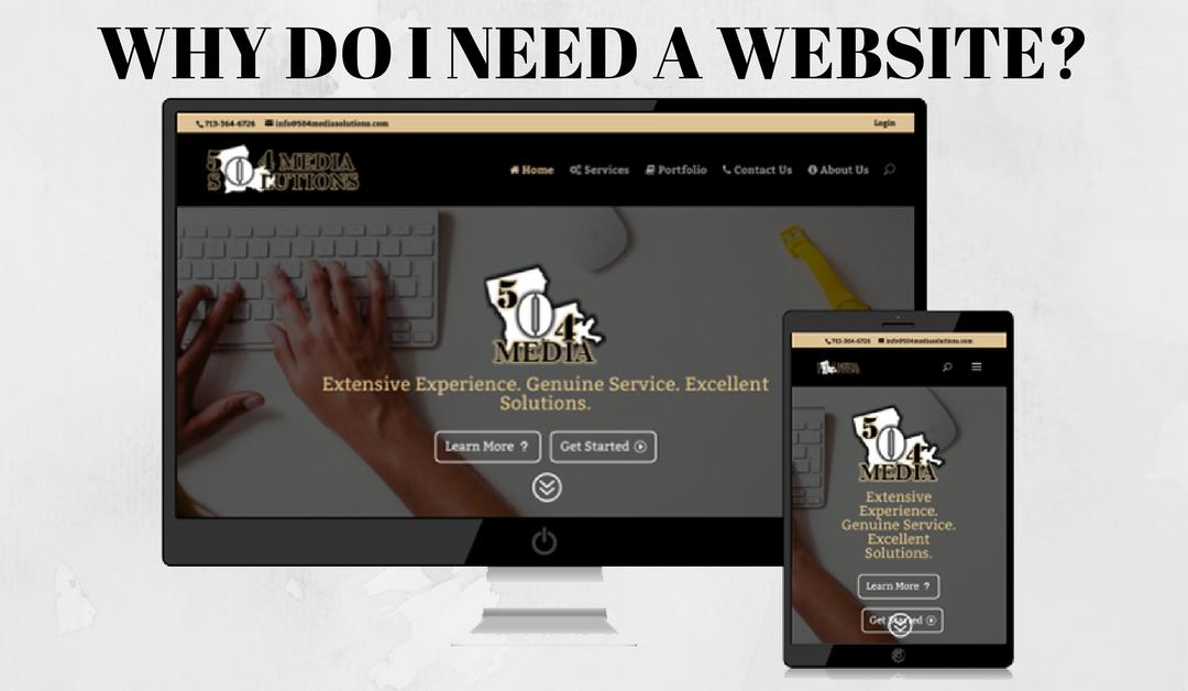 504 Media Mondays – Why Do I Need a Website?