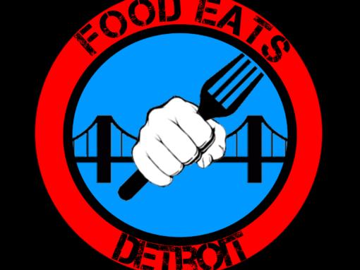 Food Eats Detroit Logo Design