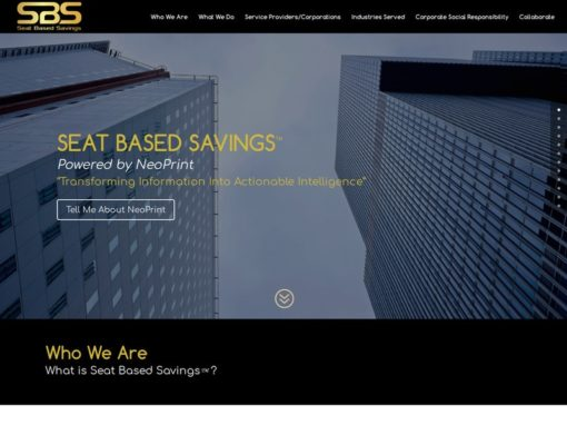 Seat Based Savings™ Web Design