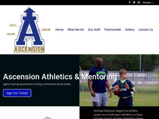The Ascension Athletics – Web Design