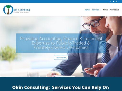 Okin Consulting – Web Design