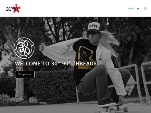 30*90* Threads – Web Design