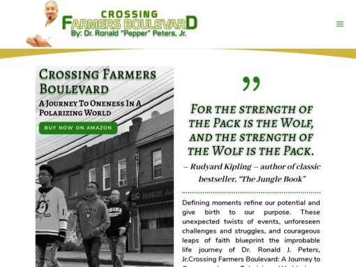 Crossing Farmers Boulevard – Web Design